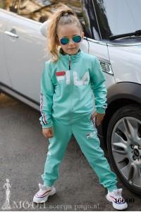Детский трикотажный костюм 16699