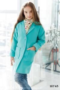 Детское пальто на девочку 16745