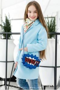 Детское пальто на девочку 16748