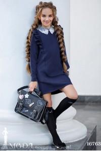 Школьное платье для девочки 16763