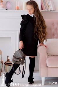 Школьное платье для девочки 16779