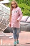 Стеганная куртка на девочку 16792