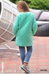 Стеганная куртка на девочку 16793