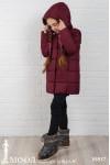 Зимнее пальто на девочку 16817