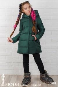 Зимнее пальто на девочку 16818