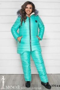 Лыжный костюм батал 17644