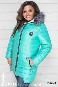 Зимняя куртка батал 17640