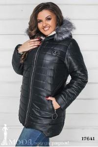 Зимняя куртка батал 17641