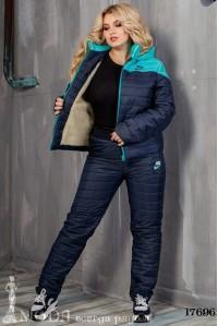 Лыжный костюм батал 17696
