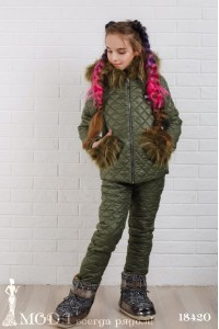 Зимний костюм 18420