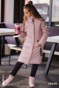 Теплое пальто на девочку 18448
