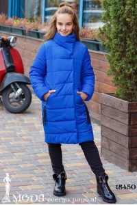 Теплое пальто на девочку 18450