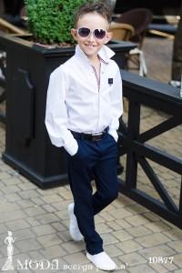 Рубашка на мальчика 19877