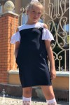 Школьное платье-сарафан 19893