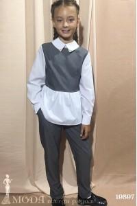 Брючный костюм на девочку 19897