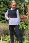Брючный костюм на девочку 19898