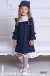 Стильное платье для девочки 12823