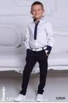 Рубашка-обманка галстук 12826
