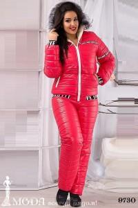 Лыжный костюм для полных 9730