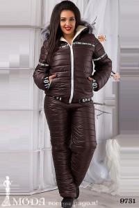 Лыжный костюм для полных 9731