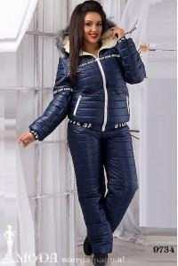 Лыжный костюм для полных 9734